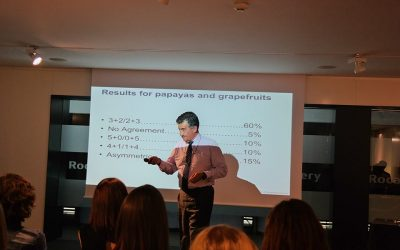 "Lecture of IE Business School's professor ""Negotiations in business"""
