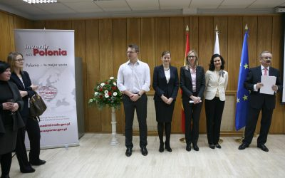 Inaugural meeting between Polish Professionals in Madrid and the Polish Embassy's Department of Trade and Investments.